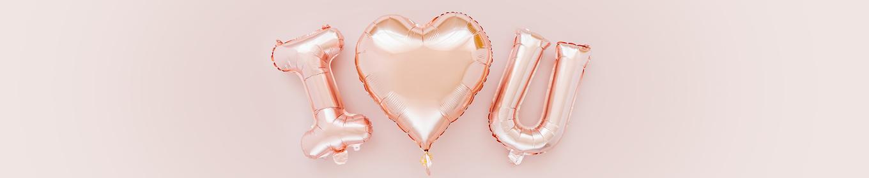 Buchstaben Ballons