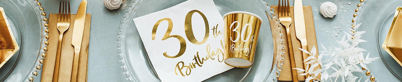 Deko 30. Geburtstag