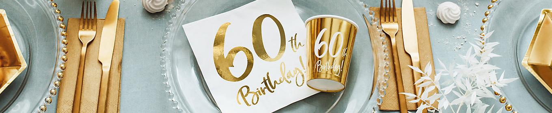Deko 60. Geburtstag