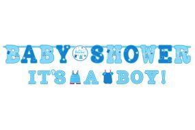 babyshower banner boy