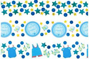 babyshower konfetti boy
