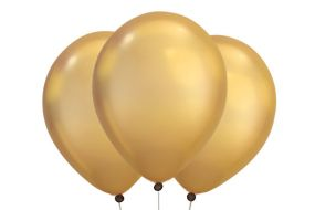 ballons gold chrome 1