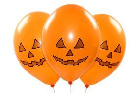 ballons halloween kuerbis 1