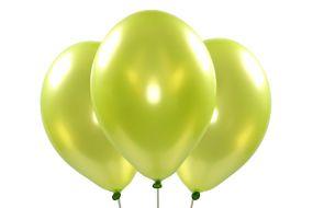 ballons metallic apfelgruen 1