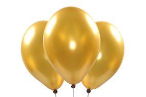 ballons metallic gold 1