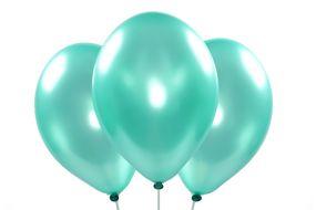 ballons metallic gruen 1