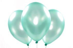 ballons metallic mint 1