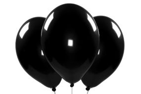 ballons schwarz 1