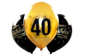ballons zahl40 gold 1