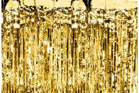 deko vorhang gold 1