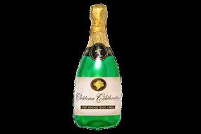 geschenkballon champagnerflasche 1