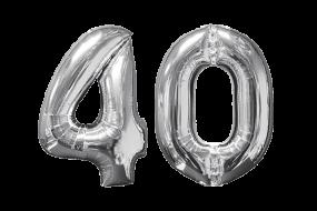 geschenkballon zahl 40 1