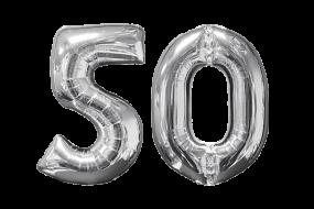geschenkballon zahl 50 1