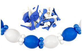 girlande self weiss blau 1