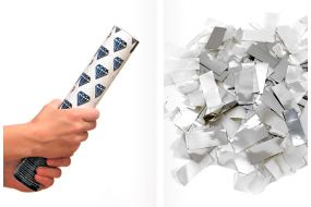 handkanone weiss silber 1