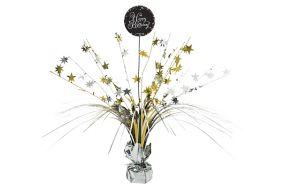 happy birthday elegant tischdeko