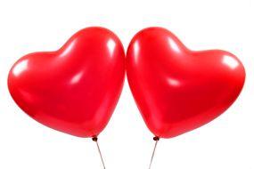 herzballons rot 1