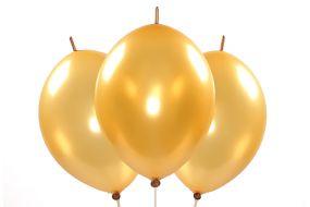 kettenballons gold 1