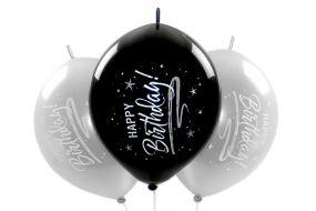 kettenballons happy birthday elegant 1