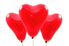 miniballons herz rot 1