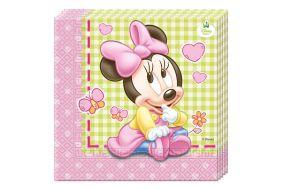 minnie mouse baby servietten