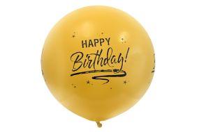 riesenballon geburtstag gold 1