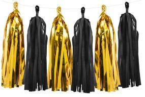 tassel gold schwarz 1