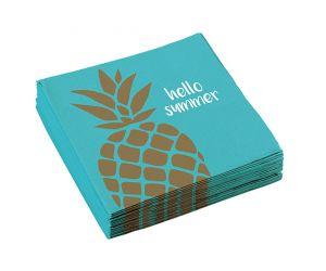 ananas servietten