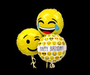 ballon bouquet emoji geburtstag klein 1