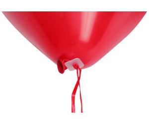 ballonband inkl verschluss rot 1