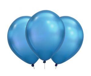 ballons blau chrome 1