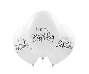 ballons happy birthday elegant 1