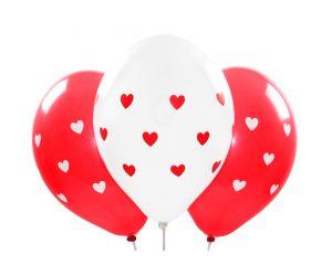 ballons herz rot weiss 1