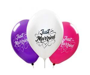 ballons justmarried hochzeitsfarben 1