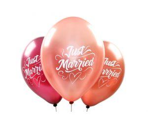 ballons justmarried metallic 1