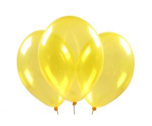 ballons kristall gelb 1