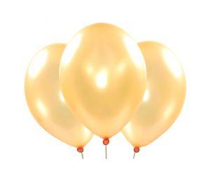 ballons metallic pfirsich 1