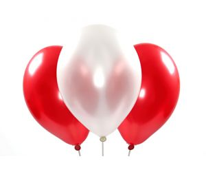 ballons metallic rotundweiss 1