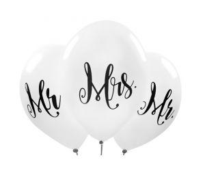 ballons mr mrs 1