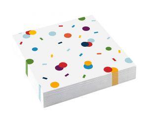 confetti servietten