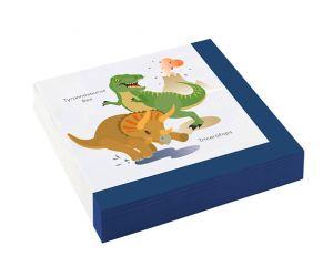 dinosaurier servietten