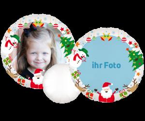 fotoballon weihnachten 1 seitig 1
