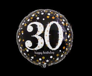 geschenkballon 30 elegant 1