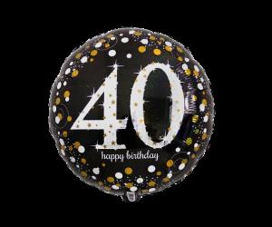 geschenkballon 40 elegant 1