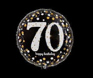 geschenkballon 70 elegant 1