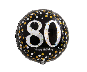 geschenkballon 80 elegant 1