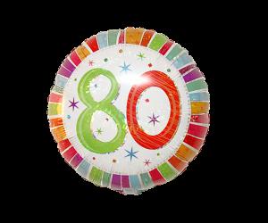 geschenkballon 80 geburtstag 1