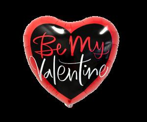 geschenkballon be my valentine 1