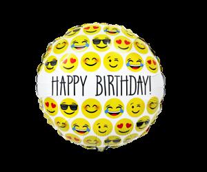 geschenkballon emoji happy birthday 1