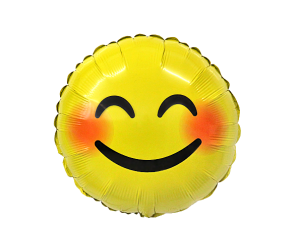 geschenkballon emoji laecheln 1